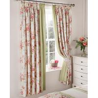 Quality Printing Floral Curtain for sale