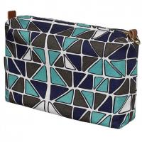 Quality Womens Travel Cosmetic Storage Zipper Pouch for sale