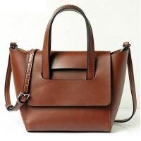 Buy cheap Latest Fashionable Classic Brown Tote Bag With High Quality PU from wholesalers