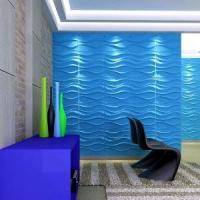 Fiber Material Decorative Bamboo Pulp Wall Tiles 3D Paintable Bamboo Wall Panels