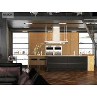Buy cheap Ambry 16-L20: Modern High Gloss Golden Lacquer Kitchen Cabinet from Wholesalers