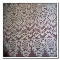 Quality Floral Drapery Lace Fabric for sale