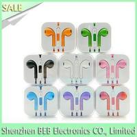 Quality iPhone earphone with mic and volume control for sale