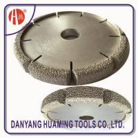 Quality HM35 Vacuum Brazed Diamond Dry Cutting Saw Blade For Sandstone for sale