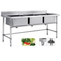 Buy cheap DM34 Triple Sink Bench from Wholesalers