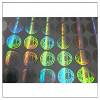 Quality 2D/3D hologram label Rainbow Holographic for sale