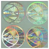 Quality 2D/3D hologram label Security Destructibl for sale