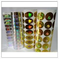 Quality 2D/3D hologram label Roll hologram sticke for sale