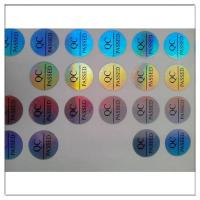 Quality 2D/3D hologram label Rainbow hologram sti for sale