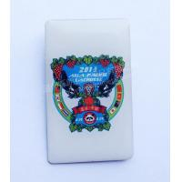 Buy cheap Stainless Iron Resin Rubber Badge from Wholesalers