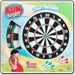 Quality FUN SPORT WHOLESALERS 17INCH DARTBOARD (RRP 7.49) for sale