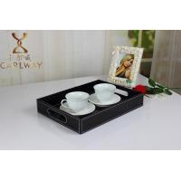 Quality Leather tray beverage tray Fruit tray cortex hotel tray manufacturer wholesale prices for sale