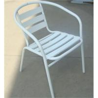 Buy cheap Promotional Metal Steel Arm Chair With Aluminum Slats from Wholesalers