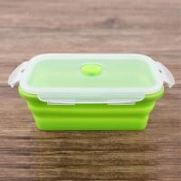 Quality Factory direct manufactured food grade silicone lunch box/fast food box for sale