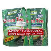Quality Instant Green Tea Ready Mix DEDE for sale
