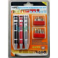 Buy cheap Screwdriver 15pc screwdriver set from wholesalers