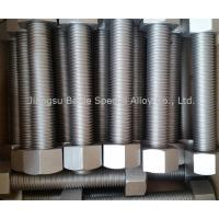 China Inconel 718 Bolts | Fasteners W.Nr.2.4668 NA51 NC19FeNb Uns N07718 Properties on sale