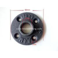 China 1/2 malleable iron pipe flange dimensions on sale