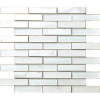 Quality crystal and marble plaid mosaic for sale