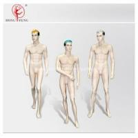 Buy cheap Handsome male mannequin group with full makeup from wholesalers