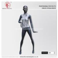 Quality Fashion women full-body mannequins with flower cloths for sale