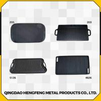 Buy cheap Healthy Fine Finished Durable and Stable Cast Iron Griddle from wholesalers
