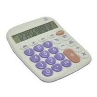 Quality Office Electronic Calculator with Colored Keyboard for sale