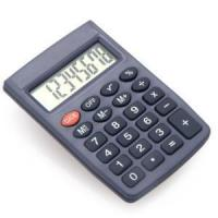Quality 8 Digits Small Size Pocket Calculator for Children for sale
