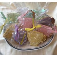 Quality 24 Tea Cup Cookie Favors for sale