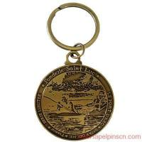 Quality Metal coin keychain for sale