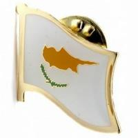 Buy cheap Cyprus Flag Pins from wholesalers