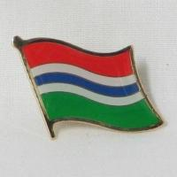 Buy cheap Gambia Flag Pins from wholesalers