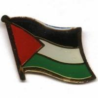 Buy cheap Palestine Flag Pins from wholesalers