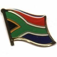 Buy cheap South Africa Flag Pins from wholesalers