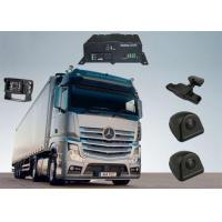 China SD Card 3G Mobile DVR 4 Channel , Front And Rear Car Camera Recorder on sale