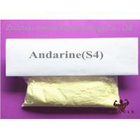 Quality Light Yellow SARMS Raw Powder Andarine S4 SARMS For Bodybuilding CAS 401900-40-1 for sale