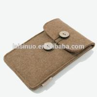 2017 high quality handmade phone protective felt bag /felt card bag/felt coin purse