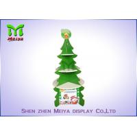 Buy cheap Christmas Tree Cardboard Cupcake Stands , Round Cardboard Cake Stands With 4 Sides from wholesalers