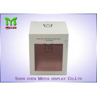 Buy cheap Recycled C1s Crown Gift Packaging Boxes With Pvc Window , Two Sides Printing from wholesalers