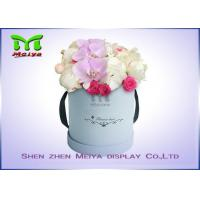 Buy cheap Romantic Beautiful Flower Gift Luxury Flower Box With Ribbon , Flower Hat Box from wholesalers