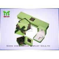 Buy cheap Luxury Beautiful Paper cardboard jewelry gift boxes With Silk Cover from wholesalers