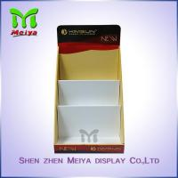 Buy cheap Full Color Printing Cardboard Display Box , retail counter display for Comic Books and Notebook from wholesalers