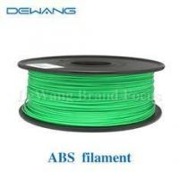 China Green Flexible Consumables 3MM ABS Filament 1KG /Spool For MakerBot RepRap on sale