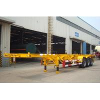 Quality 40 ft container skeletal trailer for sale