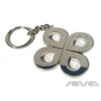 Promotional Diamante Inlay Key Chains