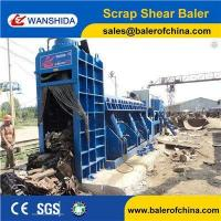 WANSHIDA Hydraulic Scrap Metal Shear Baler for Waste Car Bodies Light Scrap Metal Copper Steel