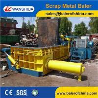Quality China Scrap Metal Cast iron scrap baling press compactor Baler Factory for sale