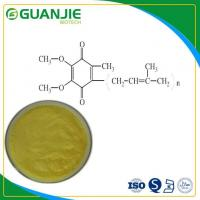 Quality COENZYME Q10 /CoQ10 High Purity Ubiquinone Powder Hot Sale In Bulk for sale