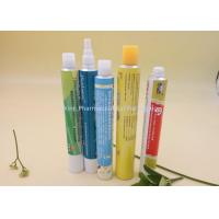 Quality Six Color Printing Aluminum Packaging Tubes , Pharmaceutical Cream Squeeze Tube for sale