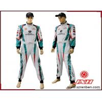 China 2014 Hot Selling Latest 2 Layers One Piece Fire-Resistant Kart Auto Racing Suit/Drifting Racing Suit on sale